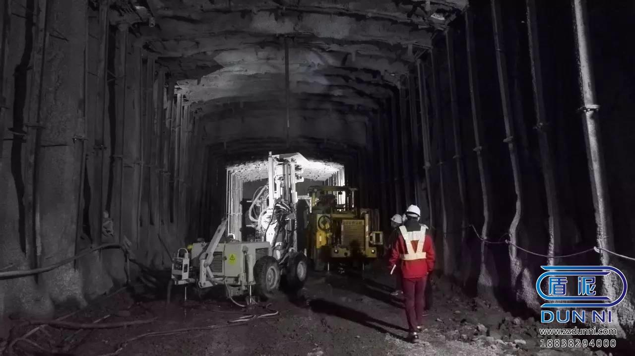 京張高鐵八達嶺隧道快硬硫鋁酸鹽水泥注漿